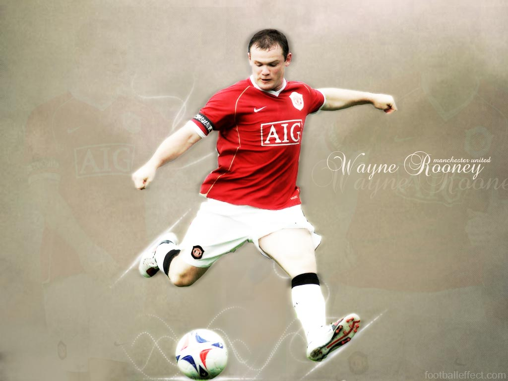 Wayne Rooney Best Footbal Player Wallpaper