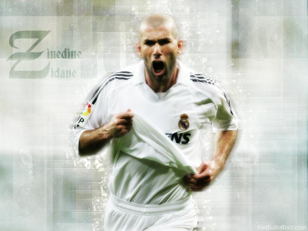 خلفيات للنجم الفرنسي الكبير وفريق ريال مدريد سابقاً (( زين ا Zidane